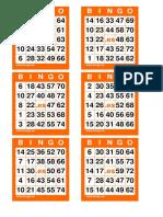 Cartones Bingo 75 Bolas(1)