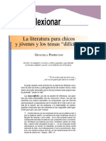 Perriconi, La literatura para chicos y jóvenes y los temas difíciles
