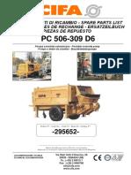295652 - PC 506-309 D6 (matr. 12816)INGEVEC-bba. de agua