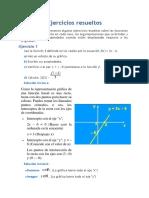ejercicios sobre funcion lineal
