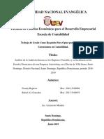 Analisis de La Auditoria Interna en Los Estados Financieros de Una Empresa