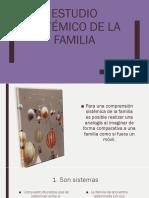 Estudio sistémico de la familia