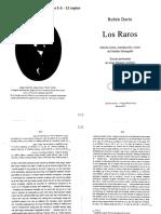 Darío José Martí Los Raros