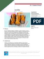 Receitas PDF Picole de Biscoito