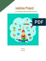 cumulative project research evidence - vivian cai