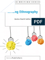 2016 Book WritingEthnography