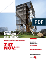 """Cinéma - 17e Festival """"Image de Ville"""" à Aix"""