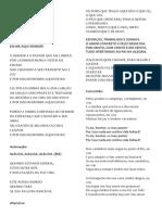 Folheto Missa Dia Dos Pai