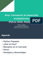 Kivy Python