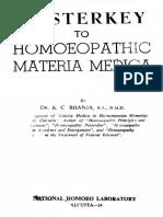 Masterkey to keynotes K. C. Bhanja