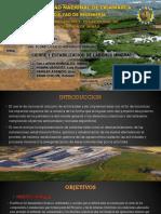 Unidad N°6 cierre y estabilización de labores minera