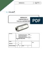 Laboratorio 7 Hidraulica Valvulas de Antirretorno