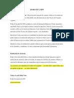 Diario de Campo Proyecto SENA