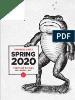 Spring 2020 Chronicle Books Frontlist Catalog