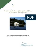 Plantes indigènes Lacs des Laurentides