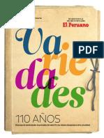 Revista Peruana Variedad 110 Años
