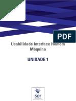 Usabilidade Interface Homem Máquina