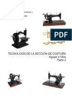 16 -Tecnologia Del Sector Costura 2 Agujas e Hilos