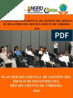 Plan departamental de gestión del riesgo departamento de Córdoba (Colombia)