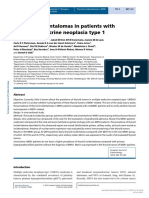 [1479683X - European Journal of Endocrinology] Thyroid incidentalomas in patients with multiple endocrine neoplasia type 1.pdf