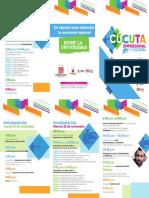 Programacion Cucuta Empresarial y Cultural