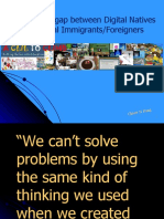 Bridging the Gap Between Digital Natives and Immigrants/Foreigners
