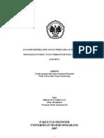 Analisis Kinerja Keuangan an Sebelum Dan Sesudah Go Public ...