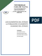 Trabajo Completo Constitucional-elementos Del Estado