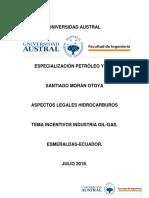 Tarea Héctor Morán Incentivos Argentina