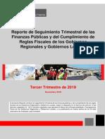 INFORME TRIMESTRAL 2019 MEF