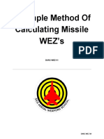 A Simple Method Calculating Missile WEZs