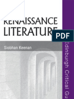 Renaissance Literature (Edinburgh Critical Guides to Literature)