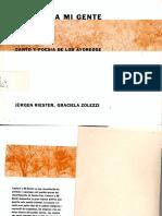 Jürgen Riester y Graciela Zolezzi - Cantaré a mi gente. Canto y poesía de los Ayoreode.pdf