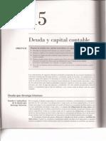 Cap. 15 Deuda y Capital