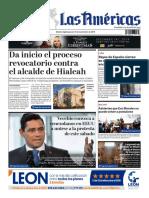 DIARIO LAS AMÉRICAS Edición digital del jueves 14 de noviembre de 2019