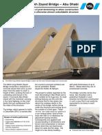 Sheikh Zayed Bridge – Abu Dhabi
