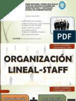 organización lineal-staff