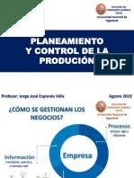 SEM 1 y 2 INTRODUCCION Proceso -Productivo 2019-2
