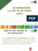 Capacitación Teórica LUP 2016