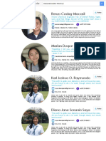 research profile