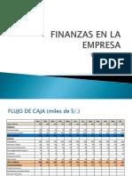 Finanzas en Las Empresas