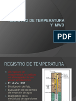Registros de Temperatura y Mwd