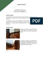 Laudo Técnico Clínica Guarabira