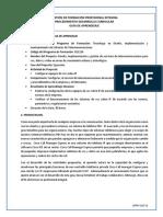 GFPI-F-019 Formato Guia de Aprendizaje Configuracion CME CISCO