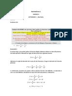 Matemática 2 - Unidad 4 - Actividad 5 - 2da Parte. Nir Strahman