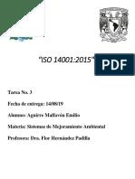 Tarea 3 ISO 14001.2015