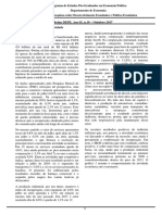 Boletim Depe PUCSP - Outubro de 2017