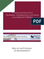 Sancho Pansa - Pferdegestützte Managementtrainings