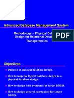 Physical Database Design for Relational Databases