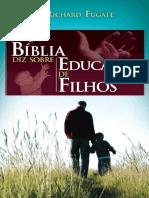 O que a bíblia diz sobre educar os filhos